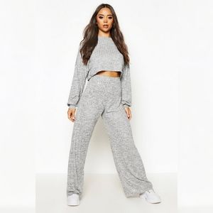 NWT || BooHoo Ribbed Co-ord Set
